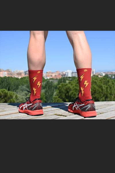Calcetines Running Sock&Roll thunderblood