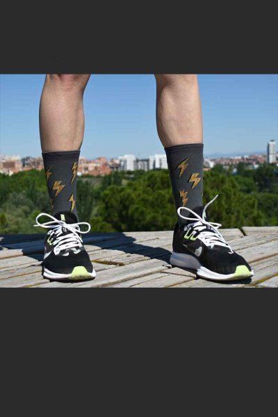 Calcetines Running Sock&Roll thunder delante