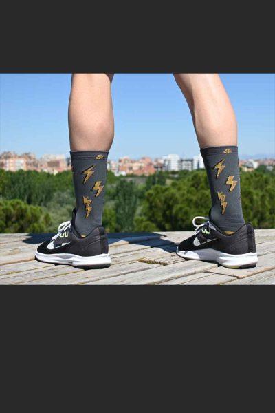 Calcetines Running Sock&Roll thunder iron