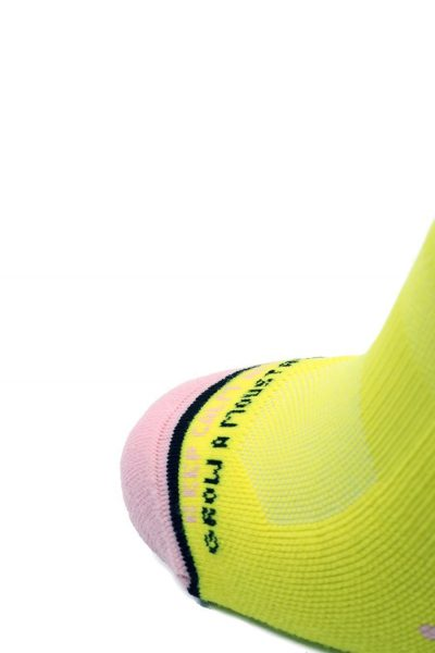 Calcetines Running Sock&Roll MOUSTACHE YELLOW