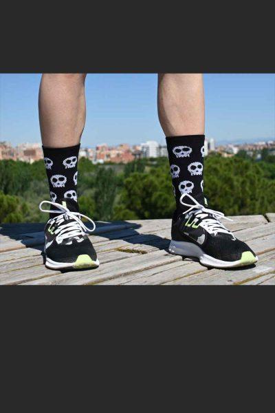 Calcetines Running Sock&Roll skulls detras