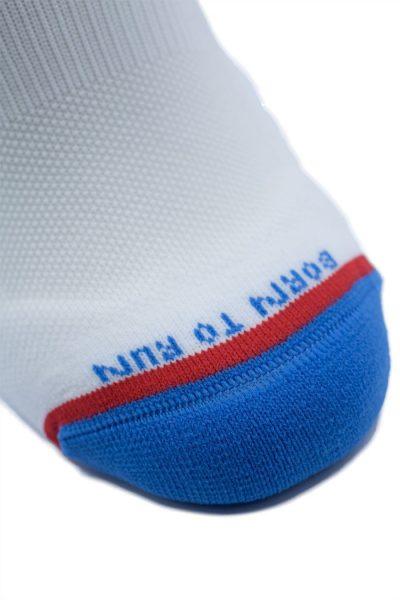 Calcetines Running Sock&Roll STARS WHITE