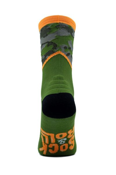 Calcetines Running Sock&Roll CAMU GREEN