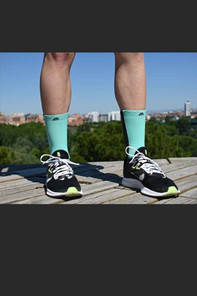 Calcetines Running Sock&Roll dragon fly delante
