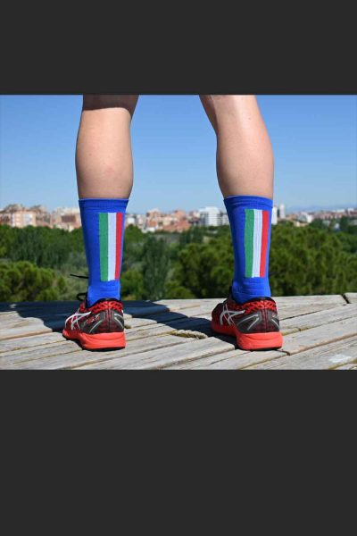 Calcetines Running SockandRoll bandera italia